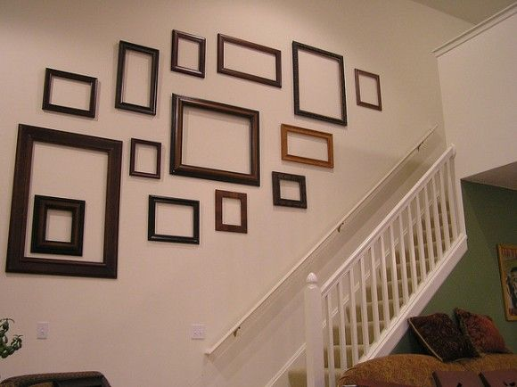 ideas for what to do with an empty frame i honestly kind of like that wall as it is my house someday pinterest frame display empty frames and