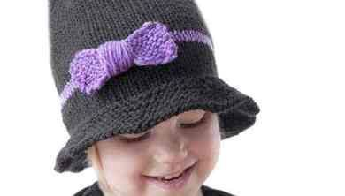 Little Witch Hat Knitting Pattern | Knitted hats, Hat ...