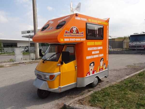 26 Best Piaggio Ape Campers Images On Pinterest