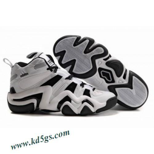 Adidas Crazy 8 Kobe Bryant Shoes White Black Shoes