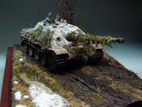Photo 12 - The Hunteress. Spring 1945 | Dioramas and Vignettes | Gallery on Diorama.ru
