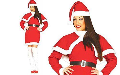 Costume pas cher b taille unique tissu Noël père Noël femmes: Indication: pas d'accessoires supplémentaires sont inclus si la description…