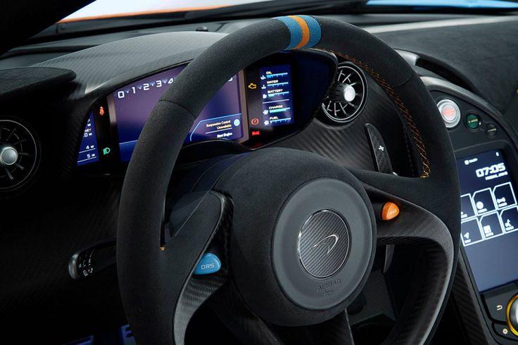McLaren P1 in Gulf Oil Racing Color Scheme Mclaren p1