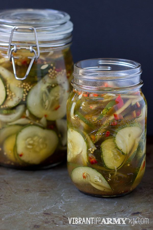 Asian hot sweet pickles