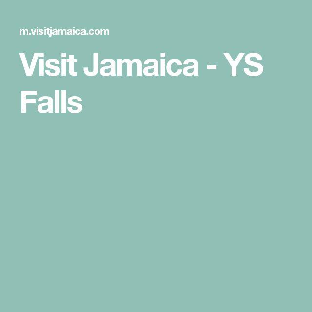 Visit Jamaica - YS Falls