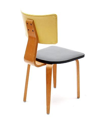 Cor Alons and J.C.Jansen; Molded Plywood Side Chair for C.den Boer, 1949.