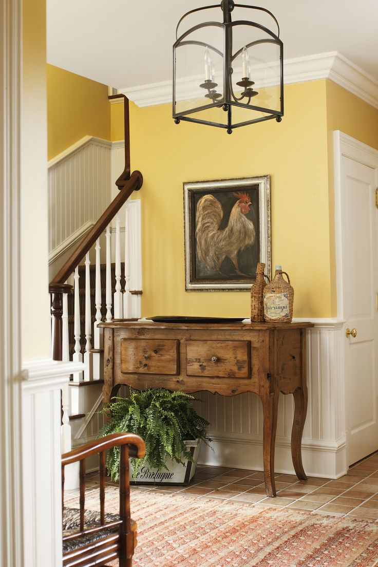 Country Home Foyers : Images about home yellow on pinterest