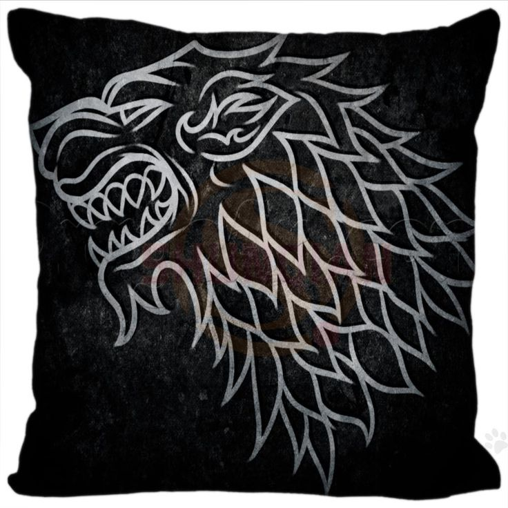 High Quality Winter Is Coming Game Of Thrones Pillowcase Custom Your Image Zipper 35x35cm 40x40cm
