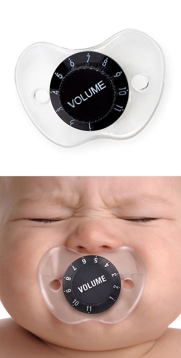 Volume Control Pacifier so funny coz its TRUE Mute the baby
