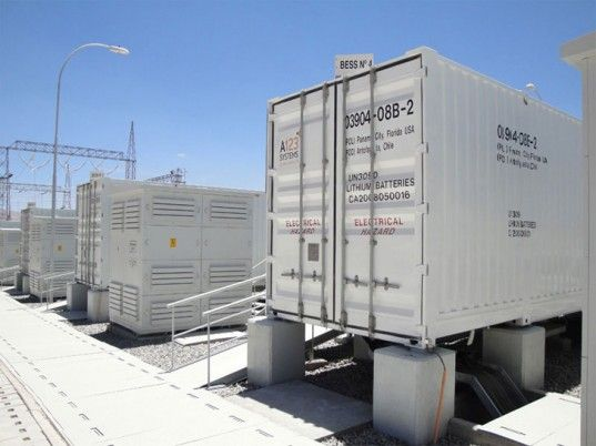 Scottish Hydro Electric Power Distribution connects first scale battery to grid ... http://www.power-technology.com/news/newsscottish-hydro-electric-power-distribution-connects-first-scale-battery-to-grid
