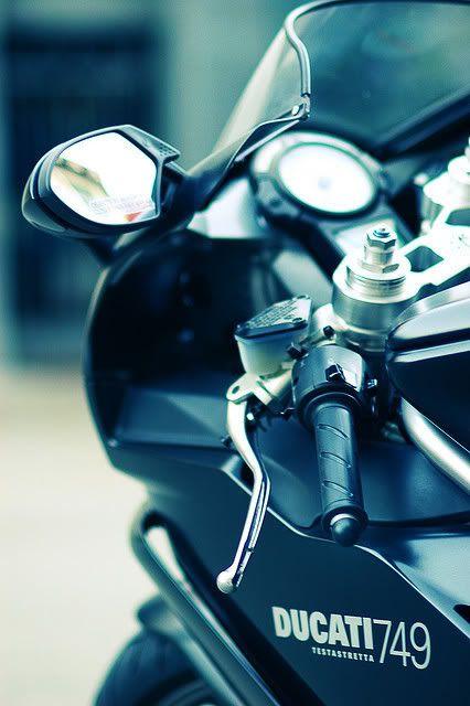 my first bike = Ducati.