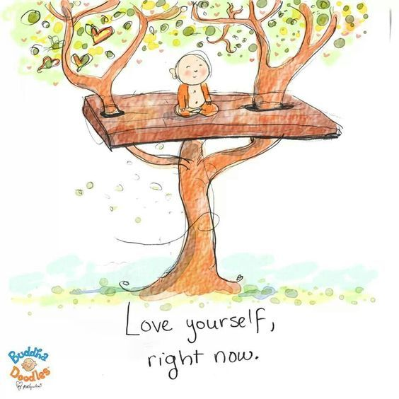 Buddha Doodles – Love yourself, right now.