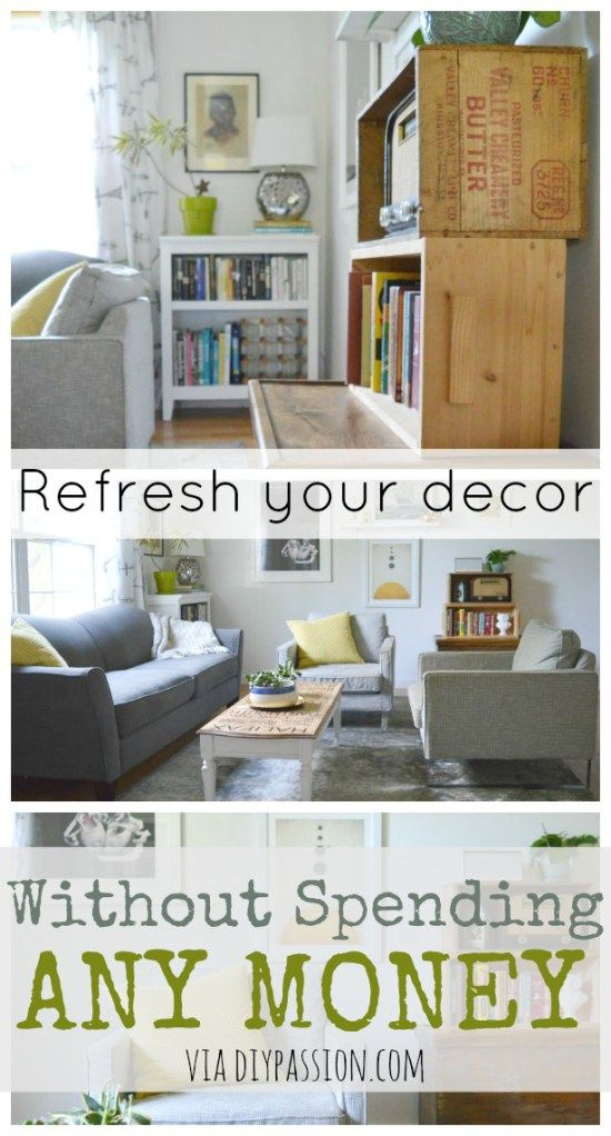 1000 images about decorating ideas on pinterest mantels - How to decorate my room without spending money ...
