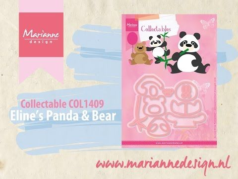 Build a Panda & Bear with the Collectable COL1409 - YouTube
