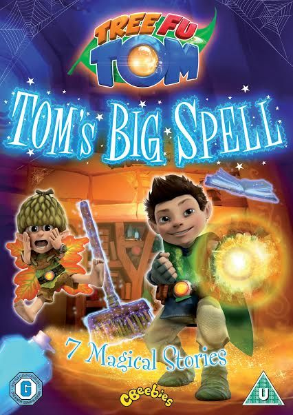 Tree Fu Tom – Tom's Big Spell dvd review and giveaway | Mum of 3 Boys