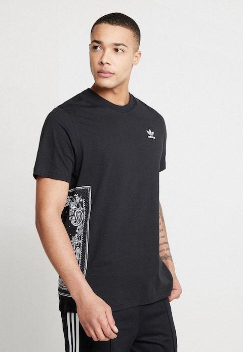 BlackZalando T Shirt Tee Bandana fr Imprimé TK1lcFJ