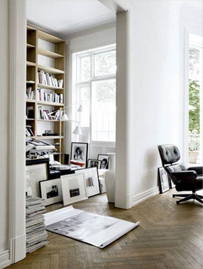 ...: Home Interiors, Elle Decor, Living Rooms Design, Interiors Design, Cars Girls, Home Design, Girls Style, Herringbone Floors, White Wall