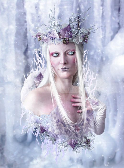 Elemental  Ice  print by Mizzdraconia on Etsy, $17.00