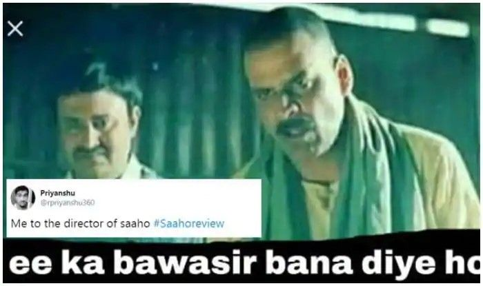 Prabhas Saaho Spawns Hilarious Memes On Social Media Funny Memes Memes Hilarious