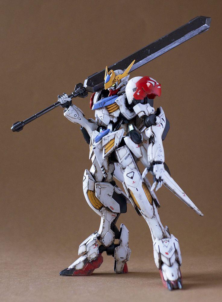 GUNDAM GUY: HG 1/144 Gundam Barbatos Lupus - Painted Build by ITTA