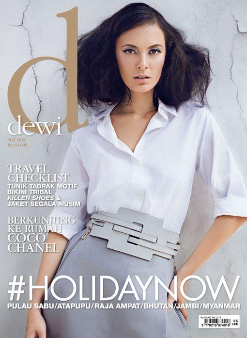 May 2014, Model: Widika Sidmore, Photograph: Glenn Prasetya, Stylist: Aldi Indrajaya, Wardrobe: Tod's