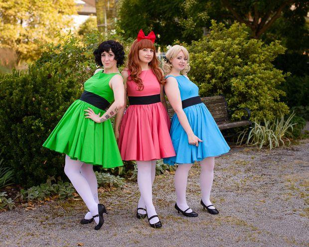 powerpuff girls costumes diy halloween