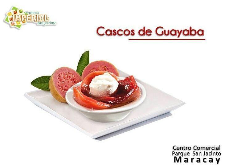 Recetas deliciosas e ingredientes de primera con la mejor atención en  @fruteriaimperialsanjacinto .  #FrutiRecetas Si eres fanático(a) de la Guayaba esta receta te encantará y es realmente sencilla y fácil de preparar.  Cascos de Guayaba  Ingredientes:  15 guayabas maduras y sanas de tamaño mediano 2 limones grandes 2  tazas de azúcar 3 tazas de agua Queso crema Galletas de Soda (Opcional)  Preparación:  Primero se pelan las guayabas se pican en mitades y se retiran las semillas.  Deposite…