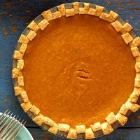 ingredients  1 recipeSingle-Crust Pie Pastry, see recipe, or 1 rolled refrigerated unbaked pie crust (1/2 of a 15-oz. pkg.)  2 eggs  3/4 cupsugar  1 5 ouncecanevaporated milk  3 tablespoonsbutter, melted  1 teaspoonfinely shredded lemon peel  Dashground nutmeg  2 mediumsweet potatoes peeled, cooked, and mashed (1-1/3 cups)