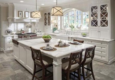 15 Kitchen Island With Storage And Seating Pictures. A very useful combination between a storage cabinet and the kitchen table, along with a couple of chairs as a running mate. Lately a lot of peop…