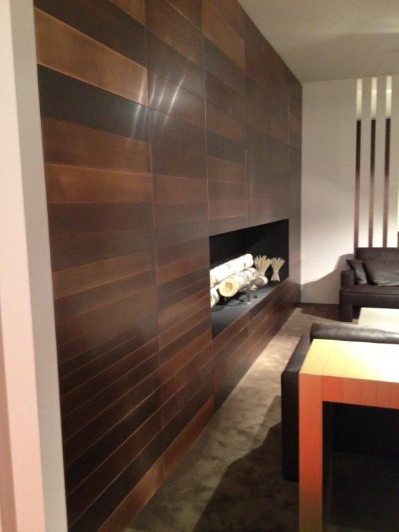 45 best copper fireplace surrounds images on pinterest for Copper interior design