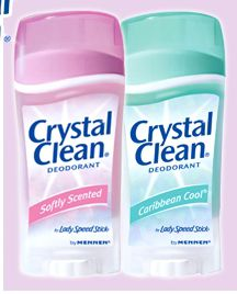 discontinued Crystal Clean deoderant by Mennen was a deoderant only so it was clear even on dark skin