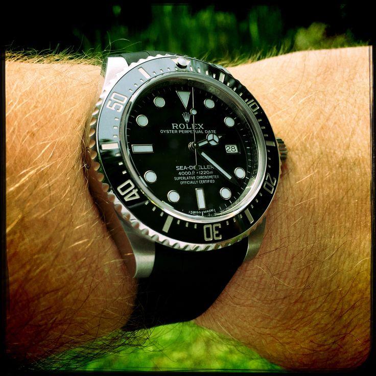 Rolex Sea Dweller 4000 Rubber B