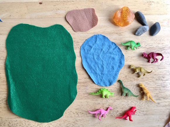 Easy Diy Dinosaur Play Mat Toy Play Mat Diy Play Mat Handmade Toys