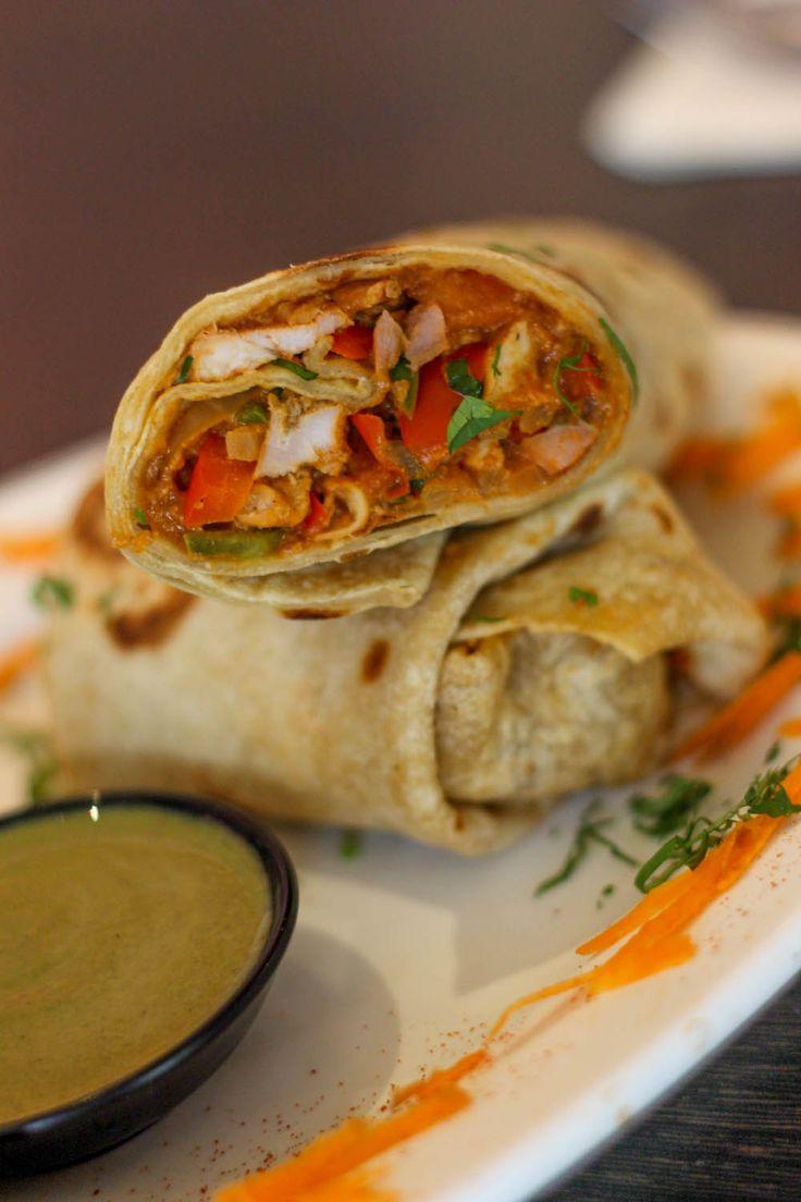 Gandhi Chicken Wrap