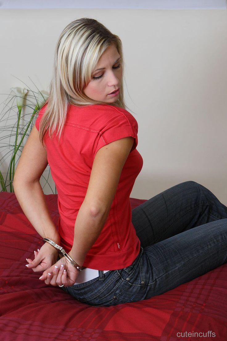 Handcuffs irons bondage leg women