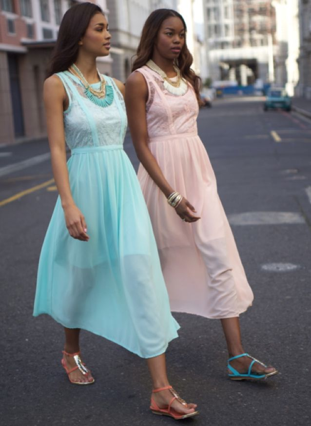 Step out in style! #pastels #sandals #metallics
