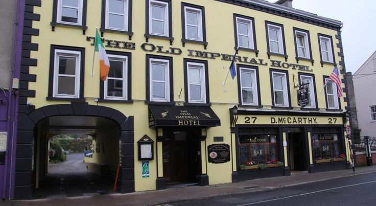 The Old Imperial Hotel Youghal Youghal Situated in Youghal's historic town centre, The Old Imperial Hotel offers secure parking and a modern Irish restaurant just 35 minutes from Cork city.