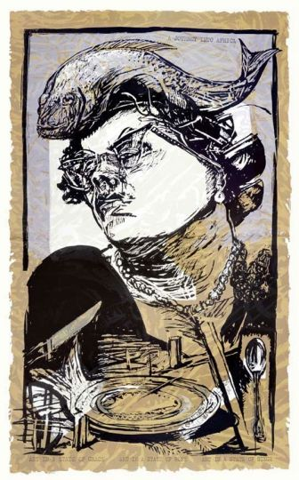 "William Kentridge, ""Art in a State of Grace,"" 1988."