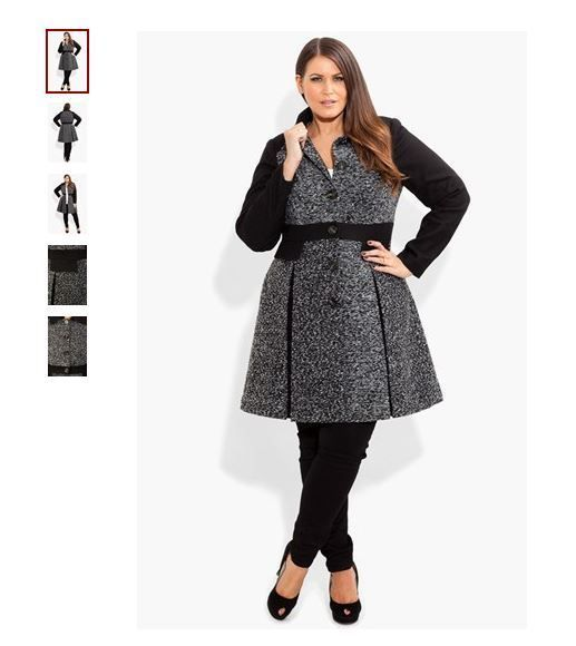 CITY CHIC PLUS SIZE PEACOAT 2X 20 20W 2XL XXL COAT JACKET FIT FLARE TOP SHIRT in Clothing, Shoes & Accessories, Women's Clothing, Coats & Jackets | eBay