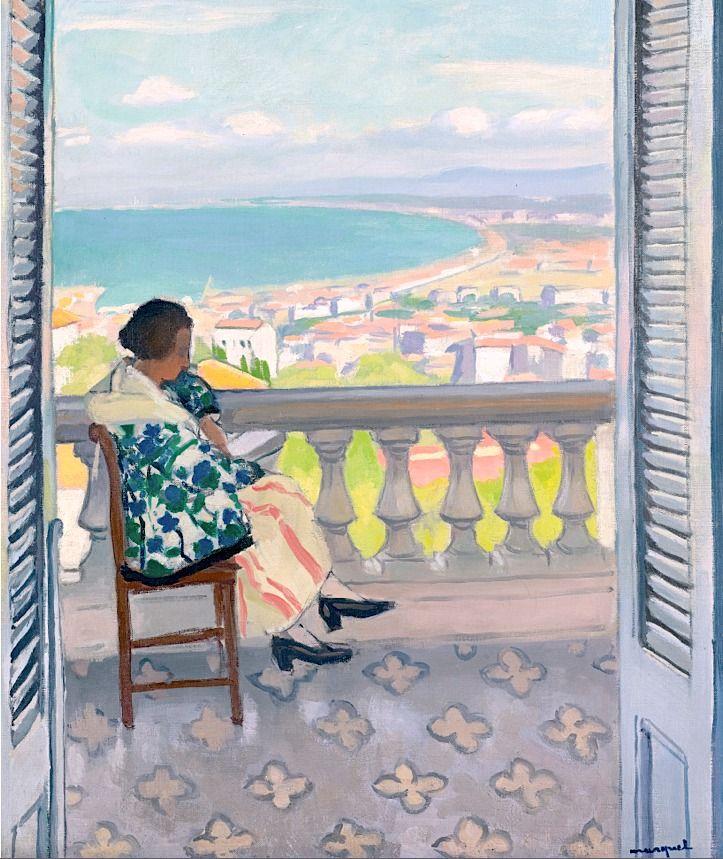 Albert Marquet 1875 - 1947 Madame Albert Marquet Lisant