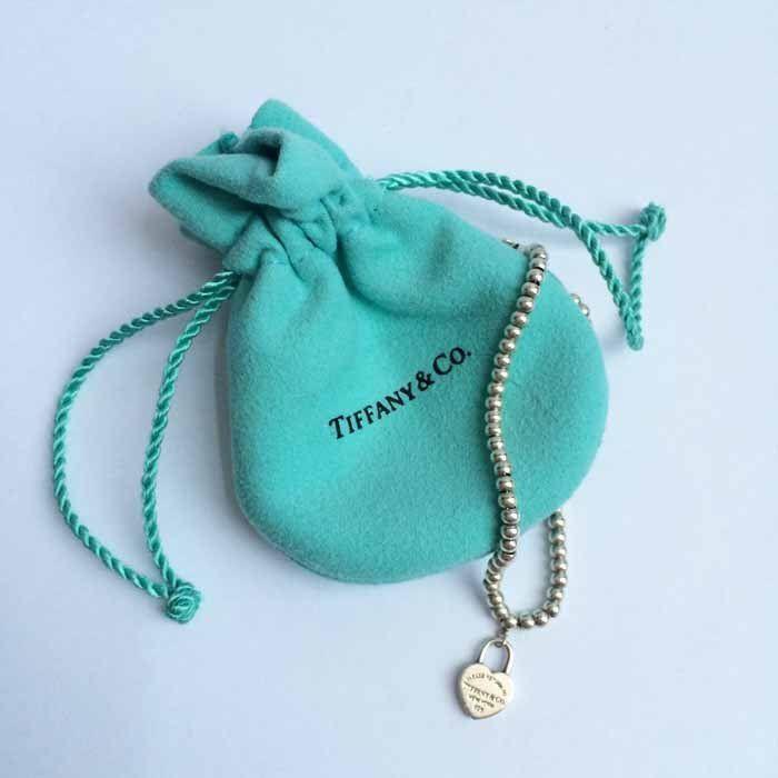 Tiffany & Co. Heart Locket Sterling Silver Bracelet