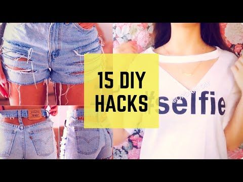DIY Clothes - Make Your Clothes New Again After Watching This - YouTube