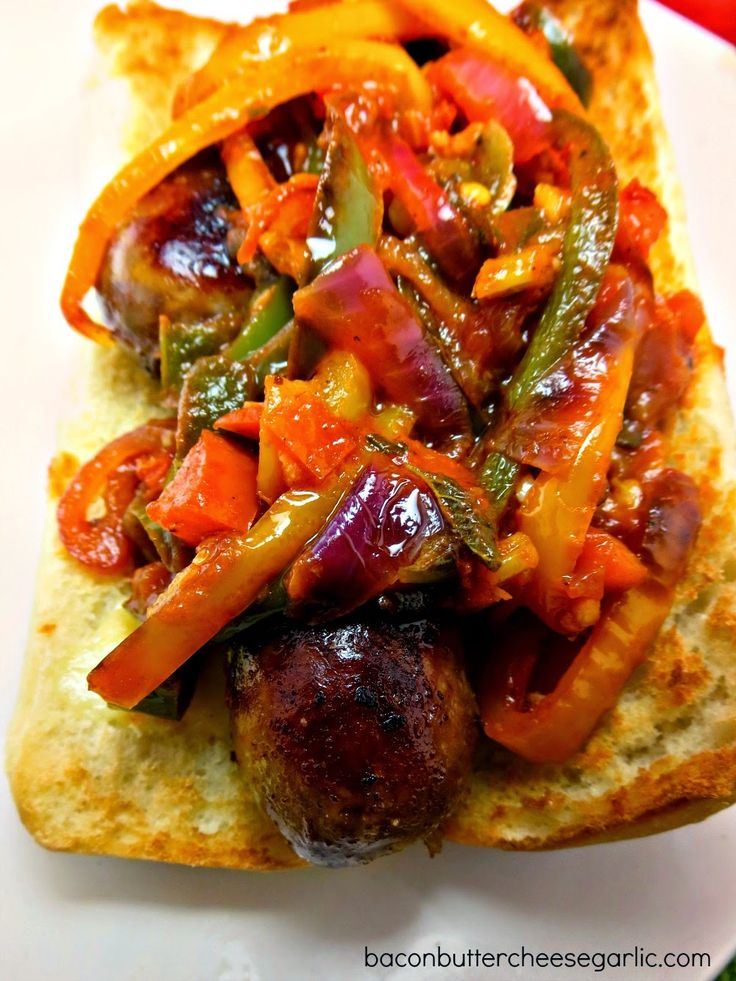 Italian Sausage Sandwiches...despite the long list of ingredients, this sandwich is easy to put together and darn tasty!