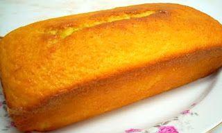 keke de naranja y nueces