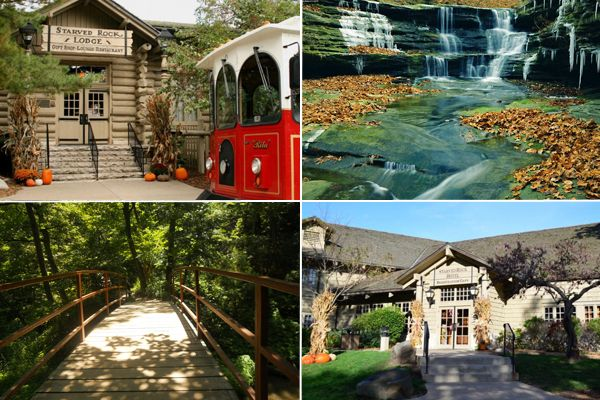 Starved Rock State Park -- weekend getaway 2 hours from Chicago with hiking trails, horseback riding, wineries, etc