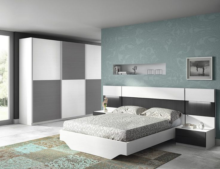 dormitorio moderno 168 d12 muebles casanova