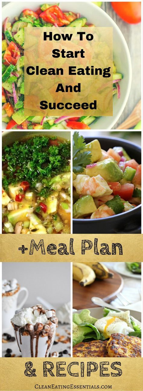 Learn how to start clean eating and succeed... In this post we'll breakdown the basics of clean eating so you can start eating clean with confidence. Inside you'll get access to our free 7 day clean eating challenge that comes with clean eating recipes and a clean eating meal plan...Click to read more....
