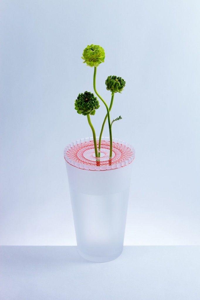 Jun Murakoshi's BLOOM vases  http://www.archipanic.com/intertwined-tension/