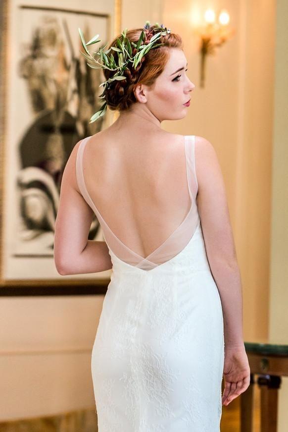 Avalon - low back lace wedding dresses - The GC Bridal Lounge | The GC Bridal Lounge