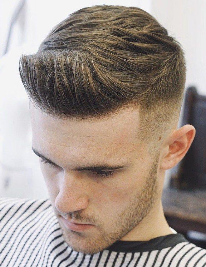 Side Pade Pompadour Frisur Haarschnitt Manner Neue Frisuren Coole Frisuren